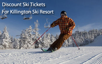 killington ski resort discount ski tickets and by owner lodging